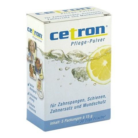 CETRON Reinigungspulver 5x15 Gramm