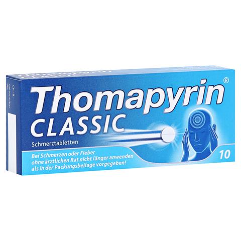 Thomapyrin CLASSIC Schmerztabletten 10 Stück N1