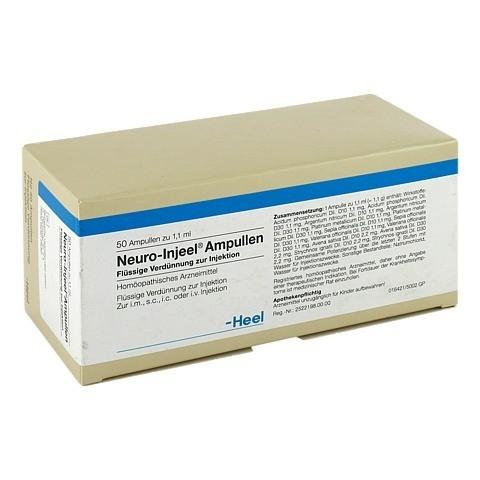 NEURO INJEEL Ampullen 50 Stück N2