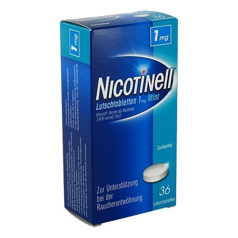 Nicotinell 1mg Mint 36 Stück