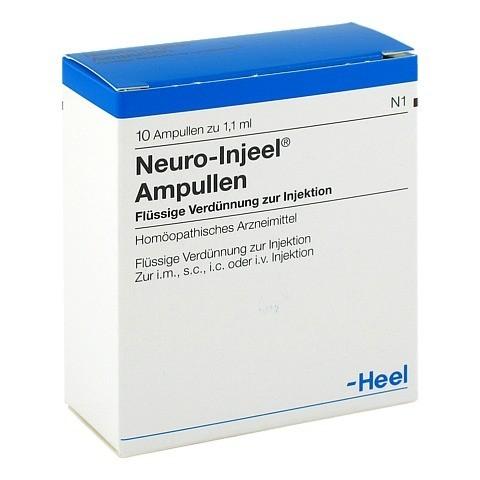 NEURO INJEEL Ampullen 10 Stück N1