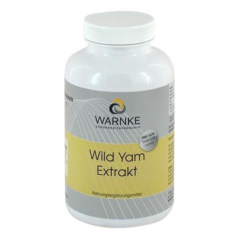 WILD YAM Extrakt Kapseln 250 Stück