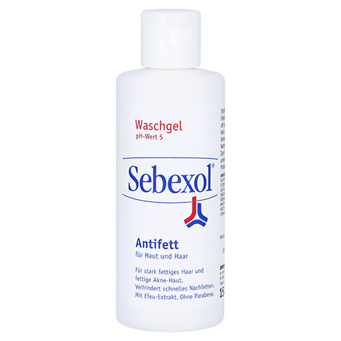 SEBEXOL Antifett Haut+Haar Shampoo 150 Milliliter