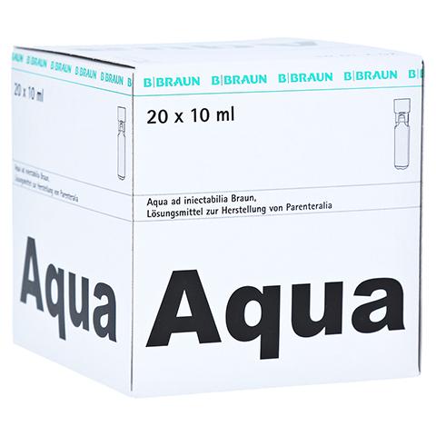 AQUA AD injectabilia Miniplasco connect Inj.-Lsg. 20x10 Milliliter N3