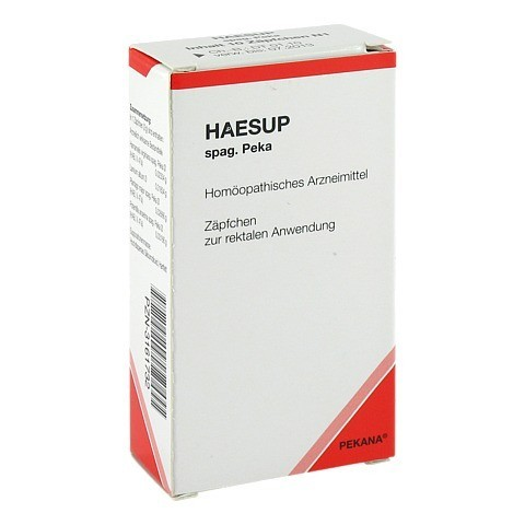 HAESUP spag.Peka Suppositorien 10 Stück N1