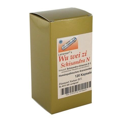 WU WEI ZI Schisandra Kapseln 120 Stück N1