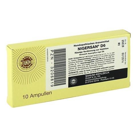NIGERSAN D 6 Ampullen 10x1 Milliliter N1