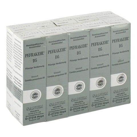 PEFRAKEHL Tropfen D 5 10x10 Milliliter N2