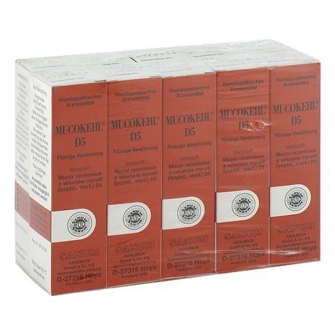 MUCOKEHL Tropfen D 5 10x10 Milliliter N2