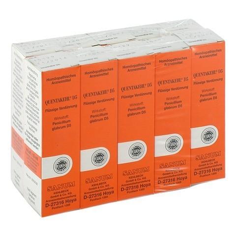 QUENTAKEHL D 5 Tropfen 10x10 Milliliter N2