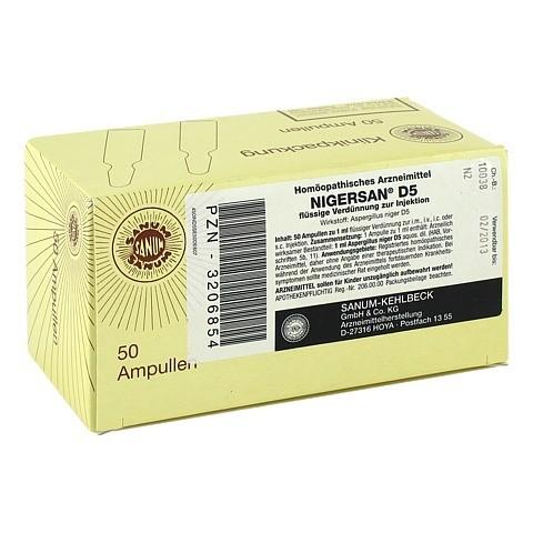NIGERSAN D 5 Ampullen 50x1 Milliliter N2