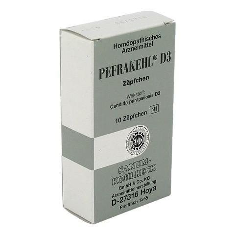 PEFRAKEHL Suppos. D 3 10 Stück N1
