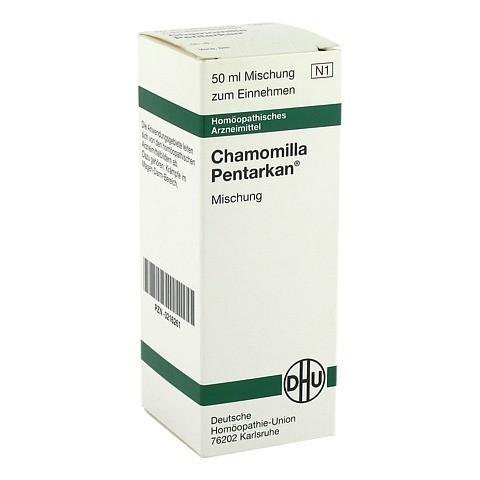 CHAMOMILLA PENTARKAN Liquidum 50 Milliliter N1
