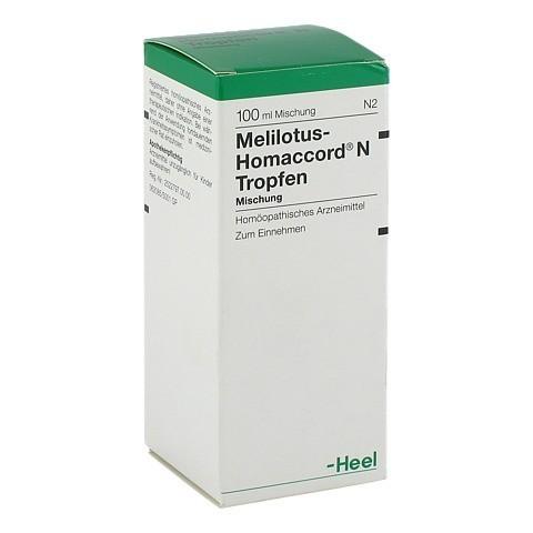 MELILOTUS HOMACCORD N Tropfen 100 Milliliter N2