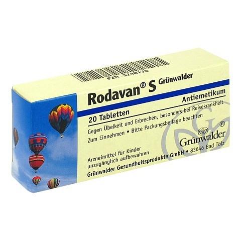 Rodavan S Grünwalder 20 Stück N1