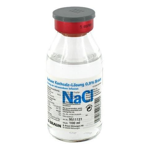KOCHSALZLÖSUNG 0,9% Glasfl. 100 Milliliter N1