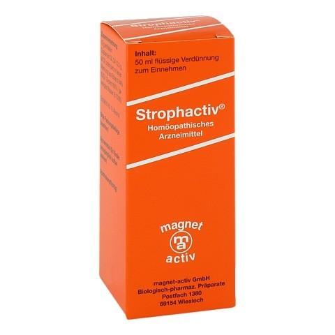 STROPHACTIV G Strophanthin D 4 Tropfen 50 Milliliter