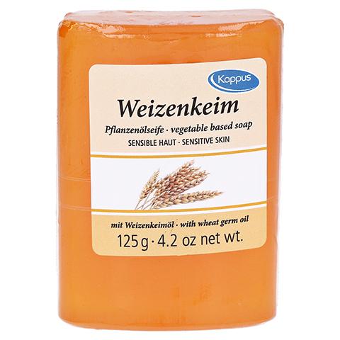 KAPPUS Weizenkeim Pflanzenölseife 125 Gramm