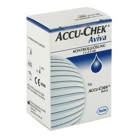 ACCU CHEK Aviva Kontrolllösung 1x2.5 Milliliter
