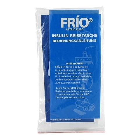 Frio Insulin Einzel Kühltasche 1 Stück