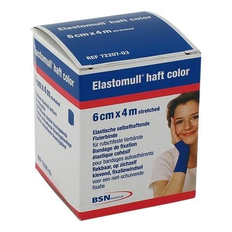 ELASTOMULL haft color 6 cmx4 m Fixierb.blau 1 Stück