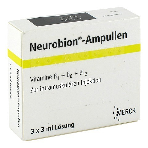 NEUROBION Ampullen 3x3 Milliliter