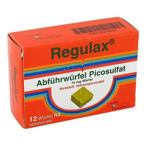 Regulax Abführwürfel Picosulfat 12 Stück N1