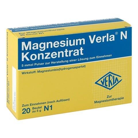 MAGNESIUM VERLA N Konzentrat Plv.z.H.e.L.z.Einn. 20 Stück N1