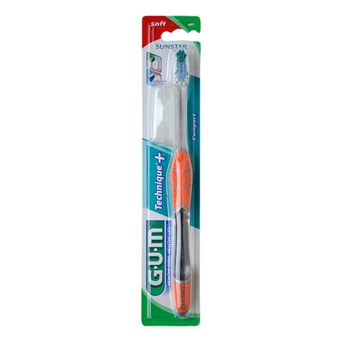GUM Technique kompakt Zahnbürste soft 1 Stück