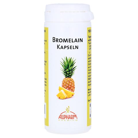 BROMELAIN Enzym Kapseln 100 Stück