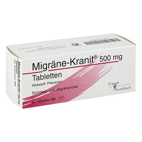 Migräne-Kranit 500mg 50 Stück N2