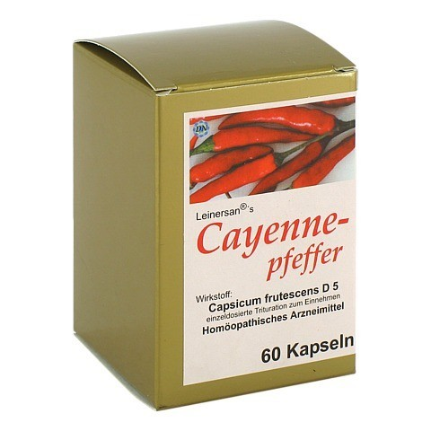 CAYENNEPFEFFER Kapseln 60 Stück N1