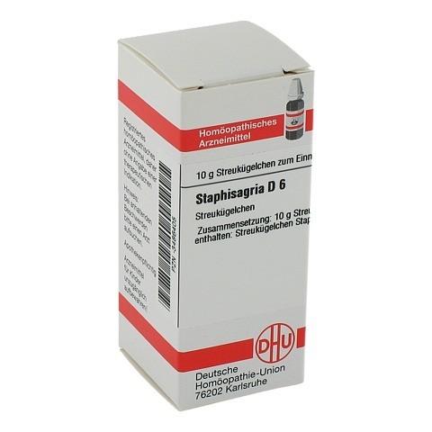 STAPHISAGRIA D 6 Globuli 10 Gramm N1
