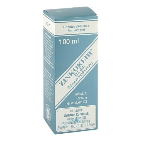 ZINKOKEHL Tropfen D 3 100 Milliliter N2