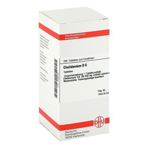 CHELIDONIUM D 6 Tabletten 200 Stück N2