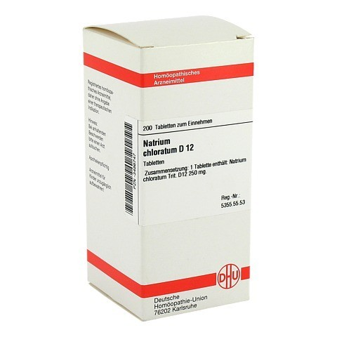 NATRIUM CHLORATUM D 12 Tabletten 200 Stück N2