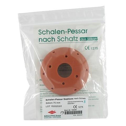 SIEBPESSAR Silikon 75 mm nach Schatz 1 Stück