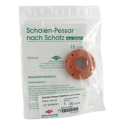SIEBPESSAR Silikon 50 mm nach Schatz 1 Stück