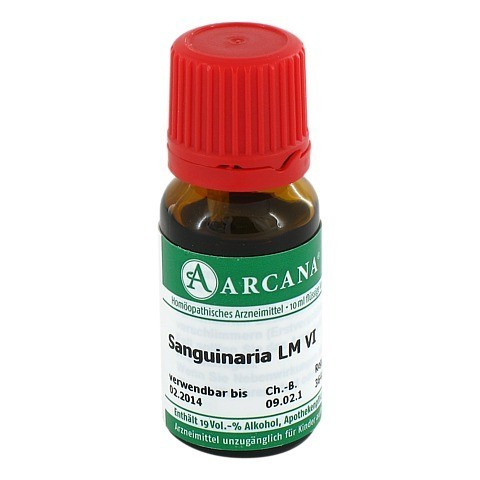 SANGUINARIA Arcana LM 6 Dilution 10 Milliliter N1