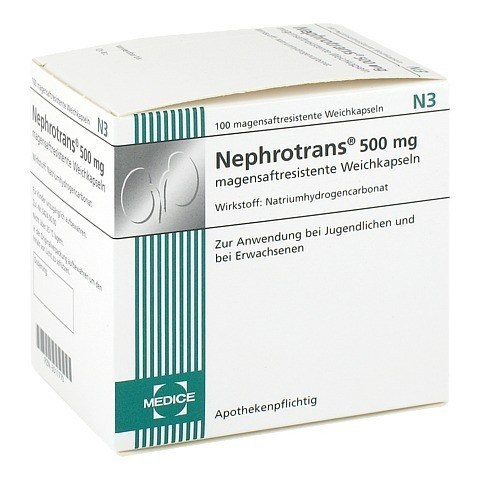 Nephrotrans 500mg 100 Stück N3