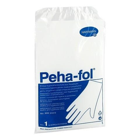 PEHA FOL Einmalhandschuhe Damen 10 Stück