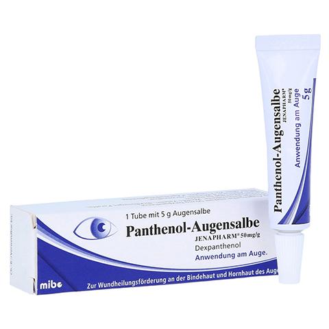 Panthenol-Augensalbe JENAPHARM 5 Gramm N2