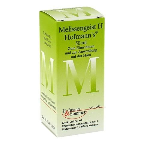 MELISSENGEIST H Hofmann's Tropfen 50 Milliliter