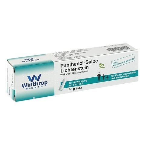 Panthenol-Salbe Lichtenstein 40 Gramm N1