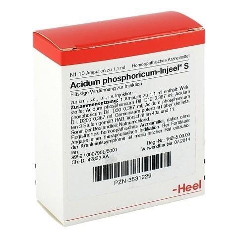 ACIDUM PHOSPHORICUM INJEEL S Ampullen 10 Stück N1
