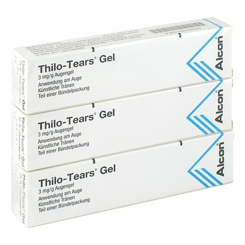 THILO-TEARS GEL 3mg/g 3x10 Gramm N3