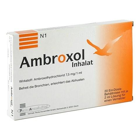 Ambroxol Inhalat 15ml/2ml 20x2 Milliliter
