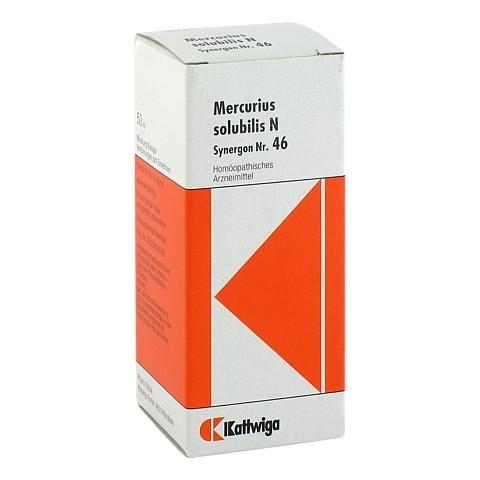 SYNERGON KOMPLEX 46 Mercurius solubilis N Tropfen 50 Milliliter N1