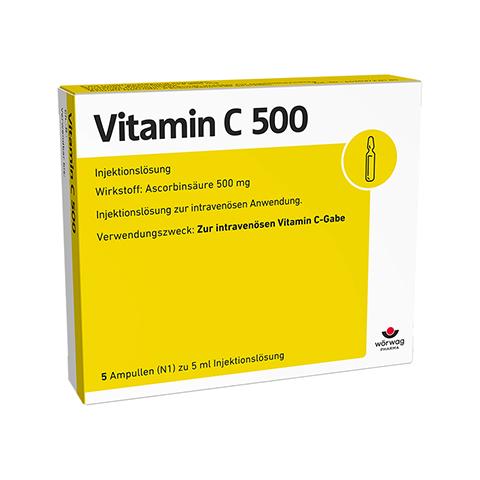 VITAMIN C 500 Ampullen 5x5 Milliliter N1