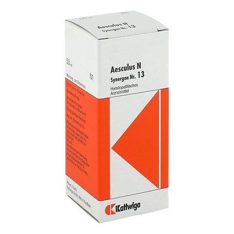 SYNERGON KOMPLEX 13 Aesculus N Tropfen 50 Milliliter N1